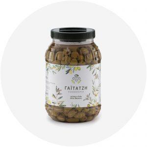 Ελιές πράσινες γεμιστές με πάστα πιπεριάς PET 2 κιλά