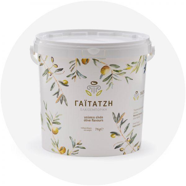 Πλαστικό δοχείο 7kg ελιές - Γαϊτατζή, Δάτο Καβάλας
